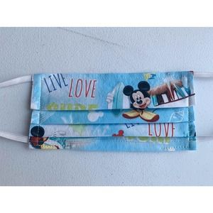 Handmade Face Mask with Filter Pocket - Mickey